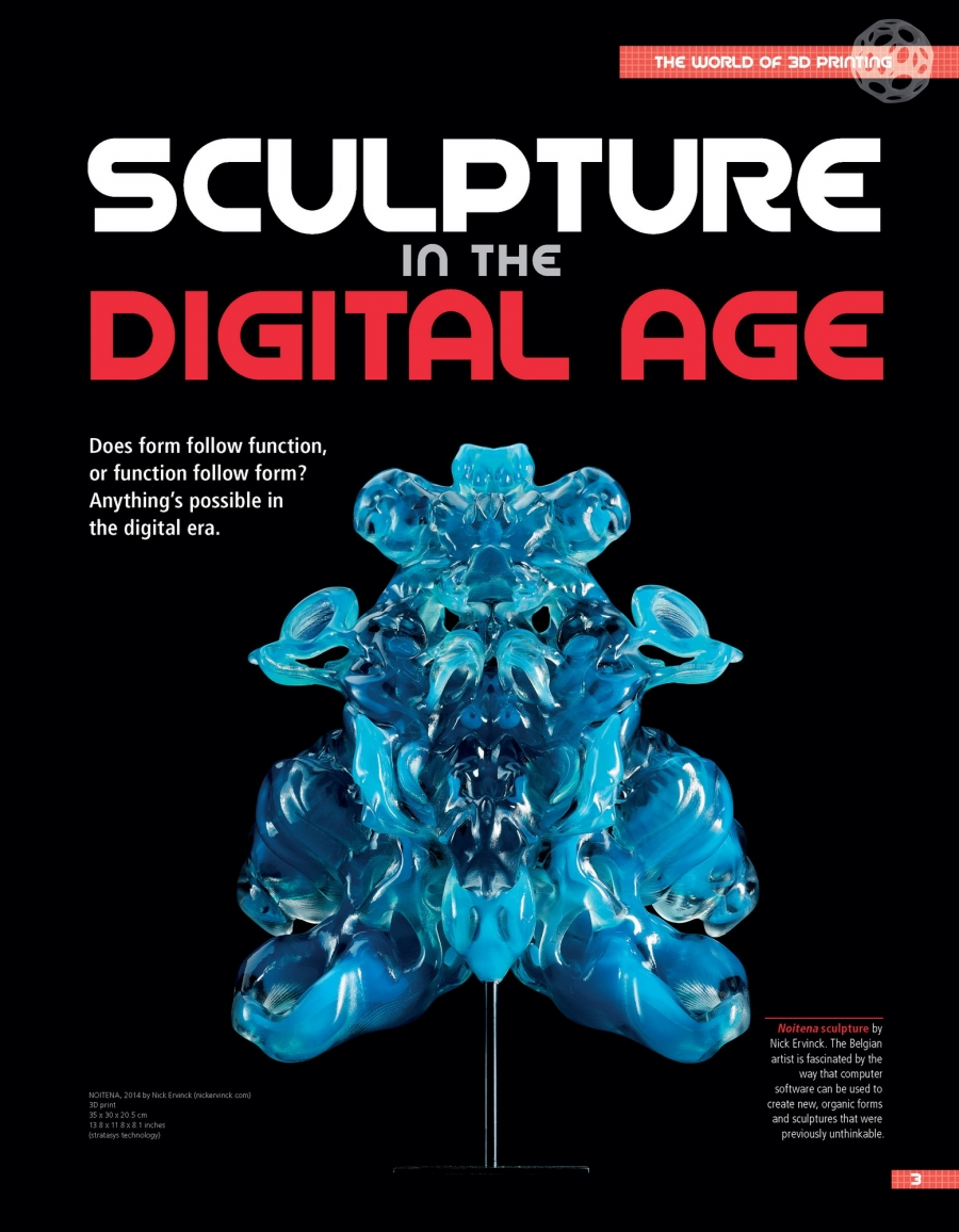Sculpture in the Digital Age